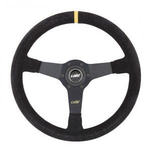 1 volante-universale-luisi-mirage-corsa-350mm-in-camoscio-nero